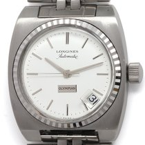 Longines Steel 37mm Automatic pre-owned United States of America, California, West Hollywood