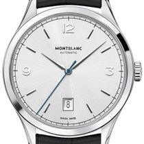 Montblanc Steel 40mm Automatic 112533 new