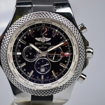 Breitling Bentley GMT Acero 49mm Negro Árabes