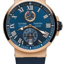 Ulysse Nardin Rose gold 43mm Automatic 1186-126-3/43 new United States of America, Pennsylvania, Uniontown