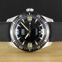 Oris Divers Sixty Five rabljen 40mm Crn Kaučuk