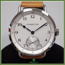 Hamilton Khaki Navy Pioneer Steel White Arabic numerals