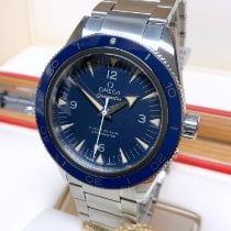 Omega Seamaster 300 pre-owned 41mm Blue Titanium