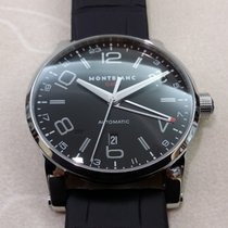 Montblanc Steel 42mm Automatic 36065 new