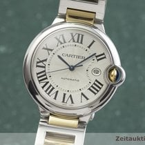 Cartier Ballon Bleu 42mm Zlato/Zeljezo 42mm Srebro
