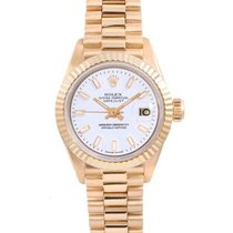 Rolex Lady-Datejust Yellow gold 26mm White United States of America, California, Los Angeles