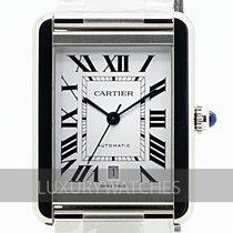 Cartier Tank Solo Acero 31mm Blanco