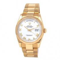 Rolex Or jaune 36mm Remontage automatique 118238 occasion