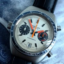 Breitling Chrono-Matic (submodel) 2114 Good Steel 38mm Manual winding Singapore, 10 Admiralty Street #05-12 Northlink Building, Singapore 757695