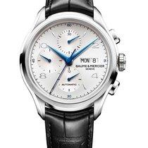 Baume & Mercier 10123 Clifton 43mm Automatic Chronograph...