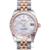 Rolex Lady-Datejust nuevo Automático Reloj con estuche y documentos originales 178341 NG