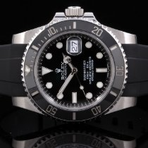 Rolex 116610 SS Submariner with Black Dial & Ceramic Bezel