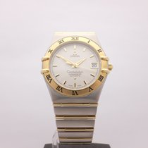 Omega Constellation 18kt Stainless Steel Automatic Full Size...