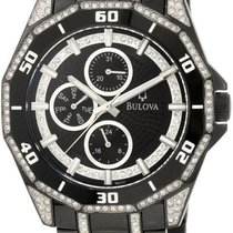 Bulova Men's Crystal Multi-function Watch 98C111