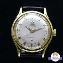 Omega Constellation Pie Pan 18 K Yellow Gold 2652sc