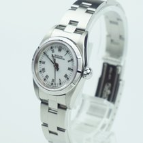 Rolex Oyster Perpetual Lady, top condition, with box, white...