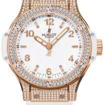Hublot Big Bang Gold White Pavé