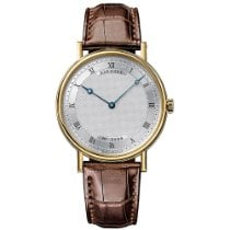 Breguet new Automatic 38mm Yellow gold Sapphire crystal