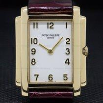 Patek Philippe 4824 Ladies Gondolo Arabic Numerals 18K Yellow...