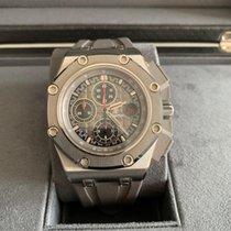 Audemars Piguet Royal Oak Offshore Chronograph Titan 44mm Grau Keine Ziffern Schweiz, Courtepin