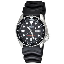 Seiko SKX007K1 Steel Prospex 42mm new