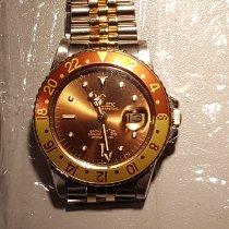 Rolex Chronomètre 40mm Remontage automatique 1972 occasion GMT-Master Brun