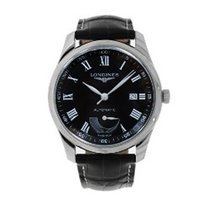 Longines Master Collection Steel 40mm Black Roman numerals United States of America, Connecticut, Greenwich