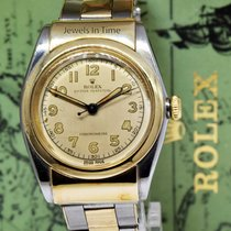 Rolex Bubble Back pre-owned 33mm Gold/Steel