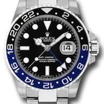 Rolex 116710BLNR Steel GMT-Master II 40mm new