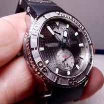 Ulysse Nardin Maxi Marine Diver Ατσάλι 42.7mm Ασημί