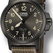 Oris BC3 Steel 42mm Grey Arabic numerals United States of America, New York, New York