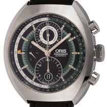 Oris Chronoris Steel 47.5mm Black United States of America, Texas, Austin