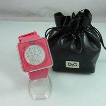 Dolce & Gabbana Steel 44mm Quartz DW0737 pre-owned