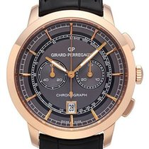 Girard Perregaux 1966 Rose gold 40mm Silver