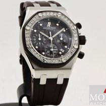 Audemars Piguet Royal Oak Offshore Lady Staal 37mm Brons Geen cijfers