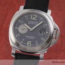 Panerai Luminor Marina Automatic Otel 43.5mm Argint