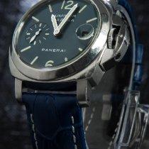 Panerai Luminor Marina Automatic Acero 40mm Azul Árabes