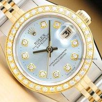 Rolex Lady-Datejust Stal 26mm Niebieski