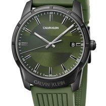 ck Calvin Klein Steel 42mm Quartz K8R114WL new