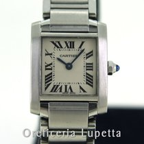 Cartier Tank Française 2384 Good Steel 20mm Quartz