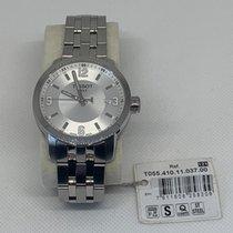 Tissot PRC 200 Steel 38,3mm Silver Roman numerals