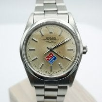 Rolex Air King Precision Staal 34mm Zilver
