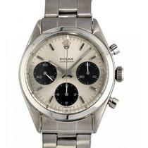 Rolex Chronograph Acero 36mm Gris Arábigos