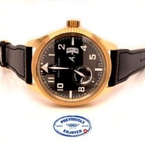 IWC Pilot Rose gold 44mm Brown Arabic numerals