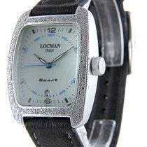 Locman Sport Tonneau Aluminum 35mm White United States of America, Florida, Miami