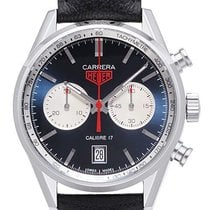 TAG Heuer Carrera Calibre 17 Steel 41mm Blue No numerals