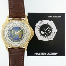 Patek Philippe World Time nuevo 39.5mm Oro amarillo