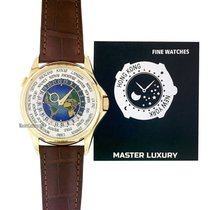 Patek Philippe Yellow gold Automatic Arabic numerals 39.5mm new World Time