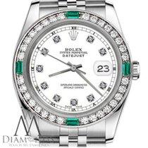 Rolex Lady-Datejust Acero 26mm Blanco Sin cifras