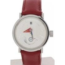 Alain Silberstein Moon Phase Stainless Steel Watch